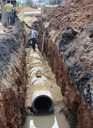 General latest news envis centre ministry of environment workers engaged in laying new pipelines to replace damaged ones on mill road in the city on sunday photo s siva saravanan sciox Images